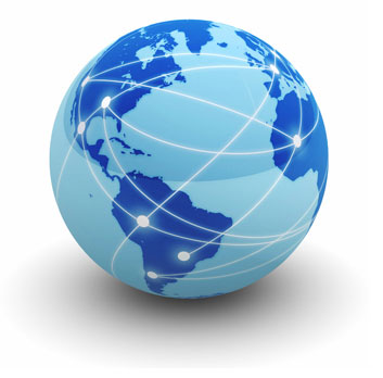 Vi leverer til hele verden